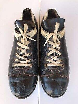 685d42120dc Vtg JC Higgins Baseball Cleats Sears Roebuck Football 50s 60s Soccer Shoes