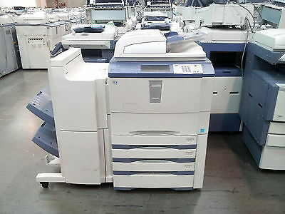 Toshiba E-Studio 855 Copier-Printer-Scanner. Stapling Finisher Included