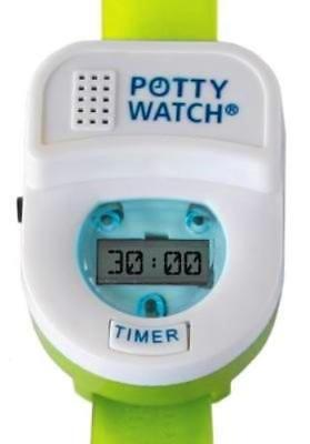 Potty Time Toddler Potty Watch Toilet Training Aid ~ Green