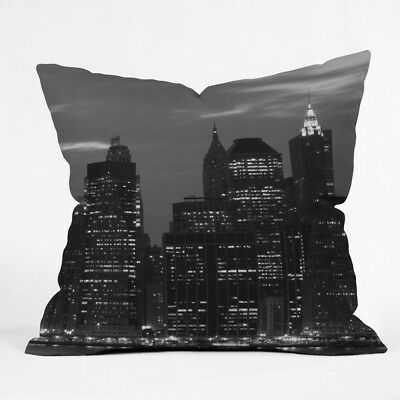 (70cm  by 70cm ) - DENY Designs Leonidas Oxby New York Financial District