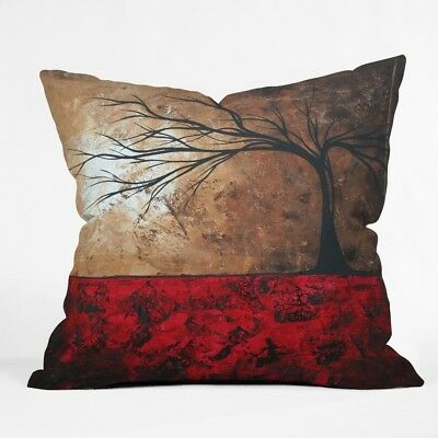 (50cm  by 50cm ) - DENY Designs Madart Lost In The forest Throw Pillow