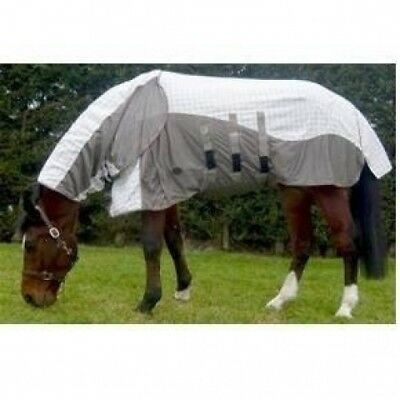 (6'9'') - Mark Todd Air Mesh Combo Fly Rug - Sun/Insect/Fly Protection -
