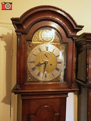 Longcase Clock, 8 Day. Richard Smith, Newport Iow. Circa 1745. Good Quality