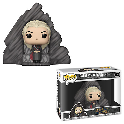 Funko Pop! Game of Thrones 63 Daenery Targayen on Dragonstone Throne Pop GOT