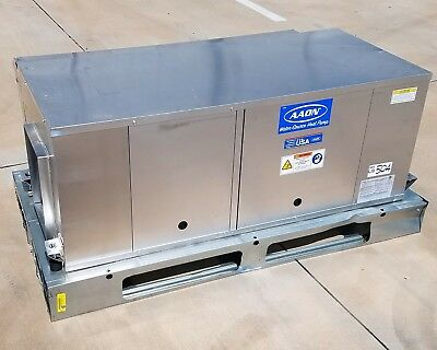Aaon 4 Ton Horizontal Water Source Heat Pump, 460V 3 Ph - New 504