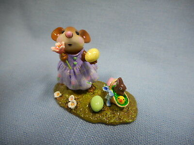 Wee Forest Folk Poppy's Easter  M-321a