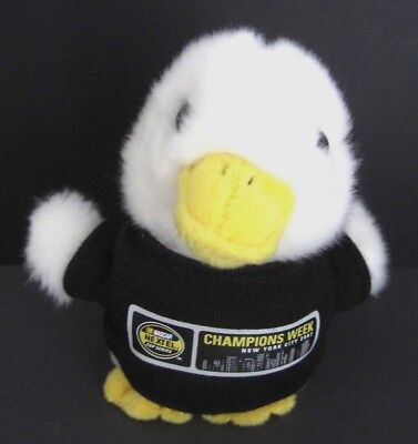 """AFLAC Duck 6"""" Talking Plush NASCAR 2007 Champions Week NYC AFLAC Cancer Center"""