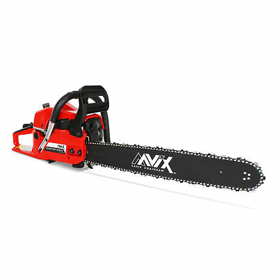 "AAVIX New 20"" Petrol Chain saw 2-Stroke Arborist Pruning 62CC Garden Chainsaw"