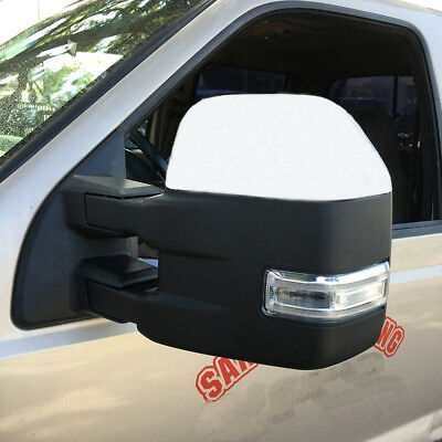 For 99-07 Ford F250-F550 Super Duty Base Color Tow Mirrors W/Power Heated Signal