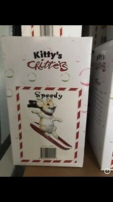 Kitty's Critters Speedy Ornament