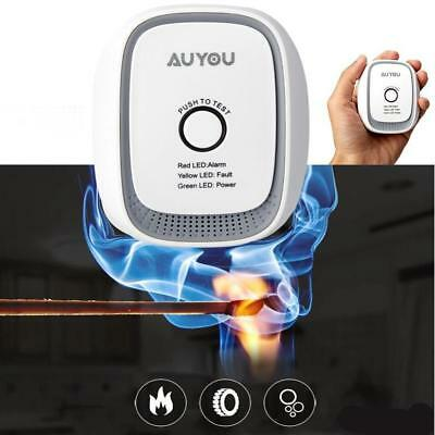 Gas Detector Sensor Alarm Propane Butane LPG Natural Camper Home Security US
