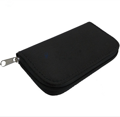 Memory Card Wallet 22 - Micro SD SDHC CF SM Protective Storage Holder Pouch Case
