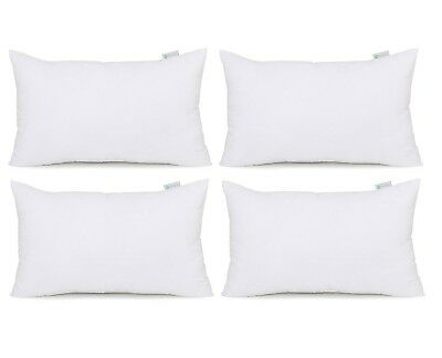 (12x20-4Pack) - Acanva Hypoallergenic Pillow Insert Form Cushion, Square, 30cm