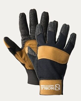(XX-Large, BLACK & TOBACCO) - Hay Bucker Pro Glove. Noble Outfitters