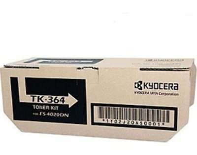 Kyocera TK-364 Black Toner - 20K yield - for FS4020DN