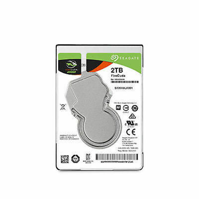 "Seagate FireCuda 2.5"" 2TB Solid State Hybrid Drive"