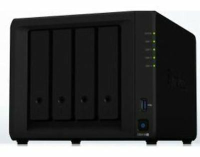 Synology Diskstation DS918+ 4 Bay Diskless NAS 2xGbE 4GB RAM