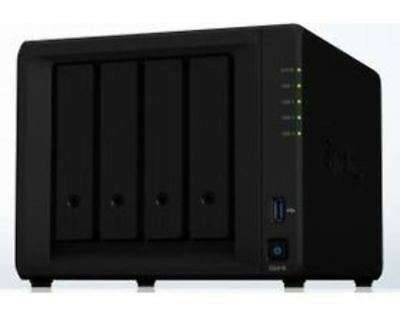 Synology DS418 4 Bay Diskless 2xGbE NAS 2GB RAM 3 x USB 3.0