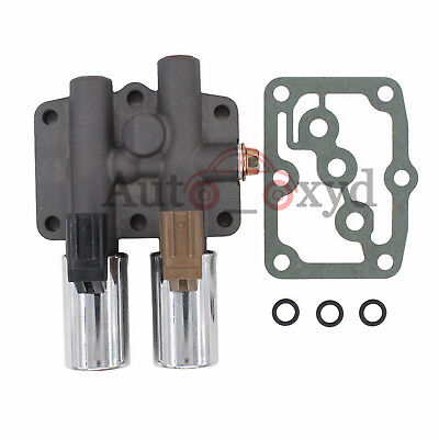 OEM Transmission Dual Linear Shift Solenoid With Gasket For Honda Acura 98-UP