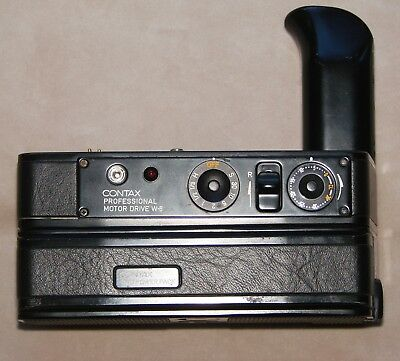 CONTAX Professional Motor Drive W-6 and CONTAX PMD Power Pack