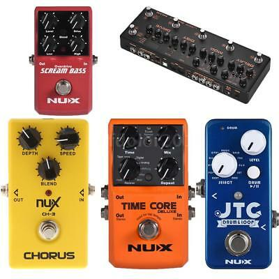 Pro NUX Guitar Effect Pedal Delay Chorus Overdrive Reverb Drum & Loop Tool W5A9