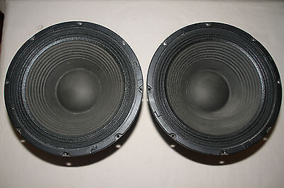 "Pair of Behringer Eurolive 12W400A8 12"" 8 Ohm 800W Reference PA Woofer Drivers"