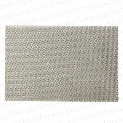 Titanium Metal Grade Mesh Perforated Diamond Holes plate 300x200x1mm #Mx33 QL