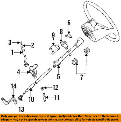 1996 ford f 250 steering column diagram wiring diagramsford oem 92 96 f 250  steering column