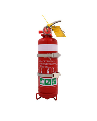 1.0kg ABE Dry Chemical Powder Fire Extinguisher  With Car Bracket + Service Tag