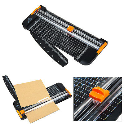 A4 Paper photo Cutter with Security Safeguard Ruler Guillotine Home Office Arts