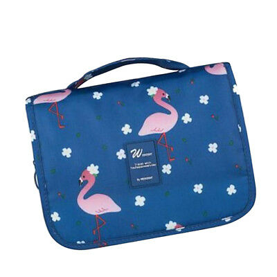 Portable Foldable Travel Storage Luggage Carry-on Wash pouch Hand Bags Blue