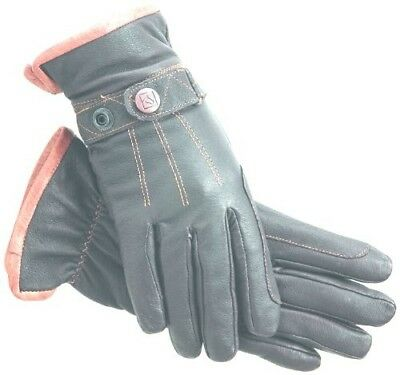 (11, Brown) - SSG Gloves 2400 Work and Horse Riding Gloves - Brown, Size 11