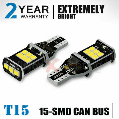 Pair 15Smd W16W Reverse Led White Canbus Mercedes E Class W212 A207 C207 2009-on