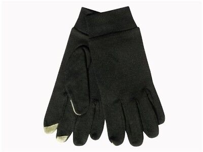 (X-Large, Black) - Extremities Merino Touch Liner Glove - Black. Terra Nova