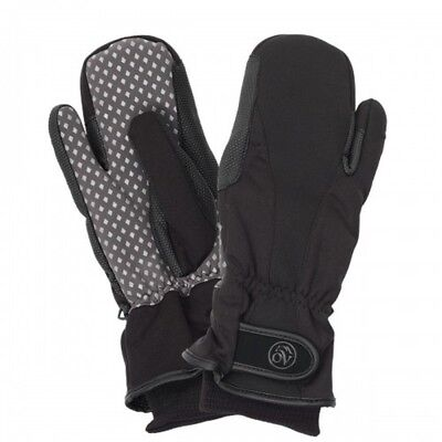 (X-Large, Black Black) - Ovation Vortex Winter Mitten. Best Price