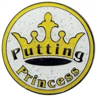 Navika Putting Princess Glitzy Ball Marker with Hat Clip. Navika USA Inc.