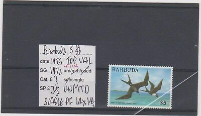 Ref. 4714 Barbuda Five Dollars Top Value