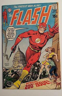 Flash #200 ( DC 1970 ) VF-
