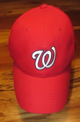 c33062a28f4 NEW ERA WASHINGTON Nationals Child - Size Youth Red Fitted Baseball ...