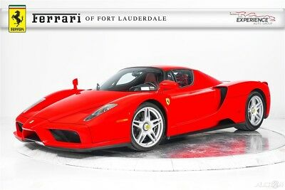 Ferrari Enzo  2 Owners Low Miles Maintained Pristine Condition 1 of 399 Ceramic Composite