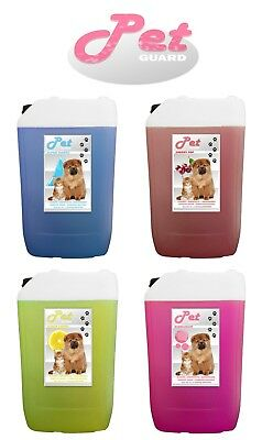 Pet Guard Kennel Dog Disinfectant 25Ltr Fresh Cleaner Deodoriser Animal Odour