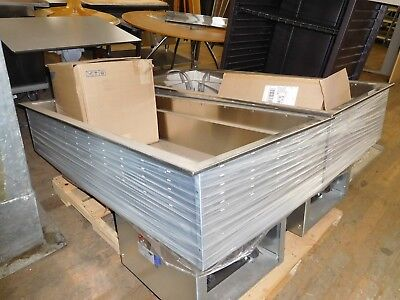 Refrigerated Cold Four Pan Drop-In Two Units Available