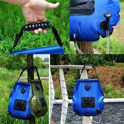 1 Set Portable Camping Outdoor Solar Shower Waterproof Camping Bag Shower 20L~