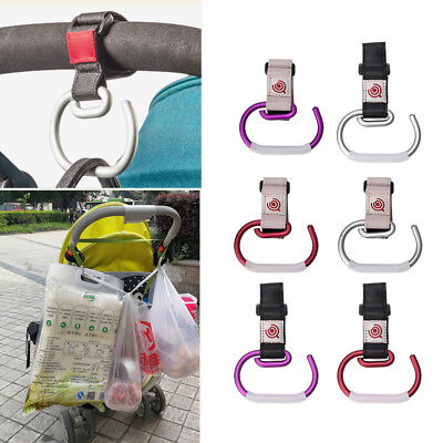 Baby Stroller Hook Cart Shopping Bag Clip Hook Pushchair Hook Hanger Universal