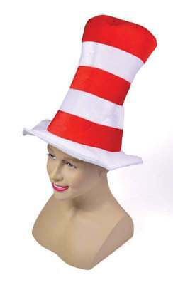 Red/White Striped Top Hat. Childs Hats