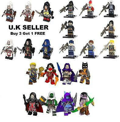Assassins Minifigure World of Warcraft Kenway Firenze Dorian Cormac Mini Figure