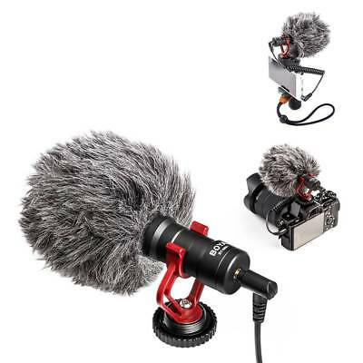 Camera Shotgun Video Microphone Recording Mic for Smartphone for DSLR Cameras UK