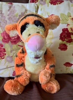 Disney Store Tigger collectable soft toy