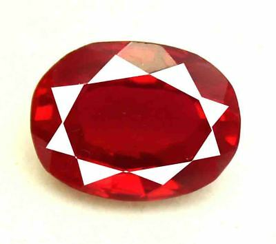 15.75Ct EGL Certified Natural Oval Cut Amazing Mozambique Red Ruby Gems AR3160