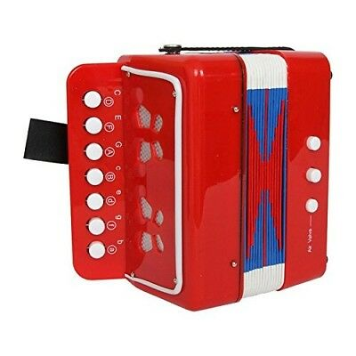 """Legler """"Red"""" Accordion Musical Toy. Small Foot. Huge Saving"""
